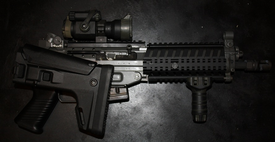 Arms Stock Swiss Arms Cqb With Acr Stock